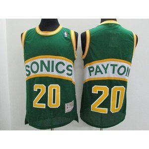 Seattle Sonics Gary Payton Green Jersey